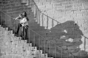 """""""Save the date"""" la séance avant le mariage pour s'entrainer à évoluer devant l'objectif de la photographe Kimcass"""